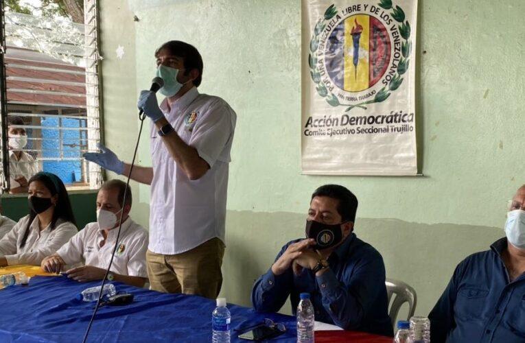 Prosperi: La Acción Democrática legítima no se presta para farsas electorales