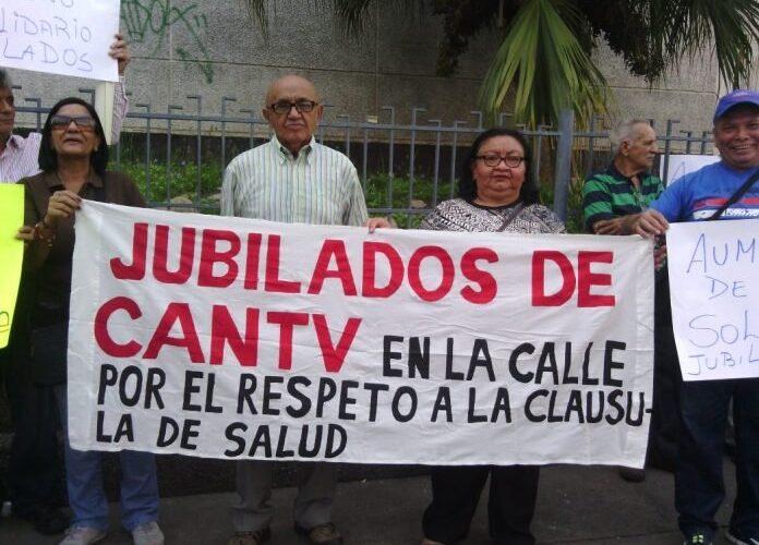 Jubilados de Cantv se quedan sin plan de salud