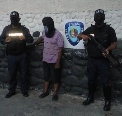 Atraparon a un solicitado en Valle del Pino