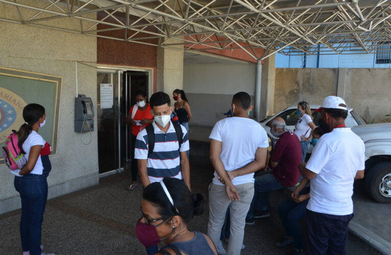 En CDI de El Mosquero están realizando pruebas rápidas