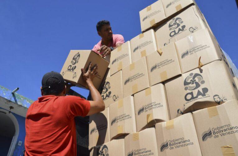 Denuncian irregularidades en la entrega de cajas Clap en Caraballeda