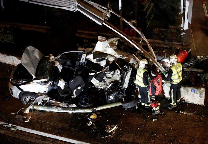 17 muertos en Georgia al caer un microbús por precipicio