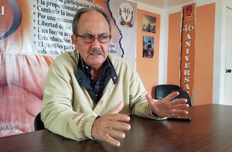 MAS pide trabajar para vencer abstención el 6D