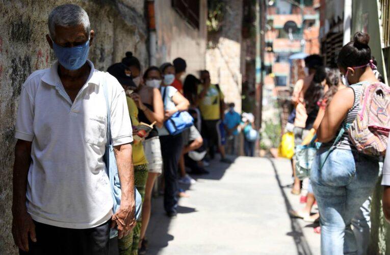 Covid: Venezuela registra 795 nuevos contagios y totaliza 24.961