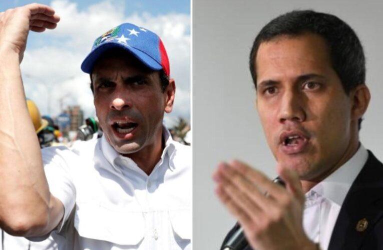 Guaidó anunció que podría reunirse hoy con Capriles