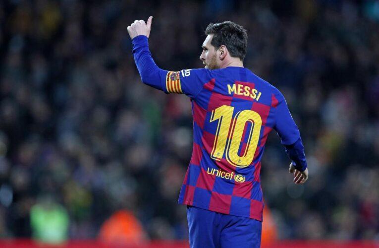 Cumbre Messi-Barsa este miércoles