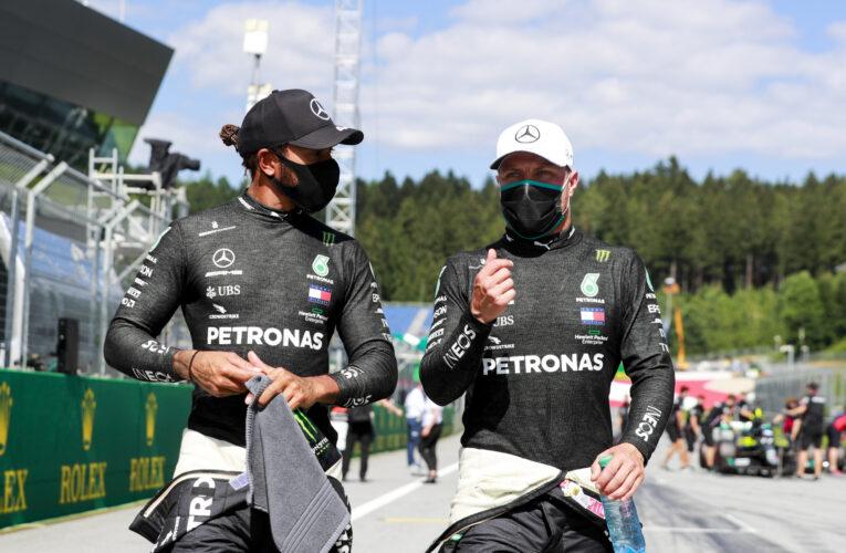 Mercedes cuadró con Bottas y espera por Hamilton