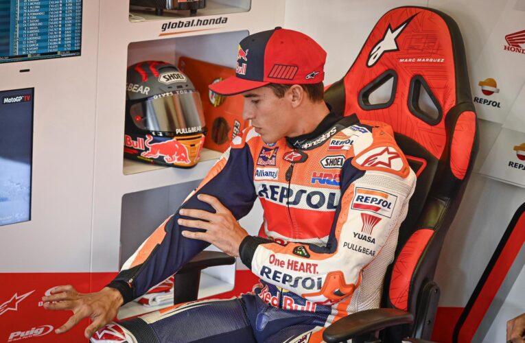 Marc Márquez sigue afuera de MotoGP