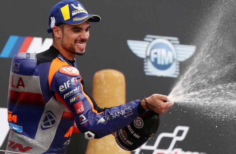 Triunfo histórico de Oliveira en MotoGP