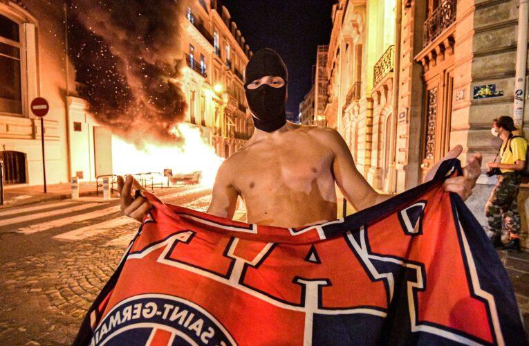 Disturbios en París tras derrota del PSG