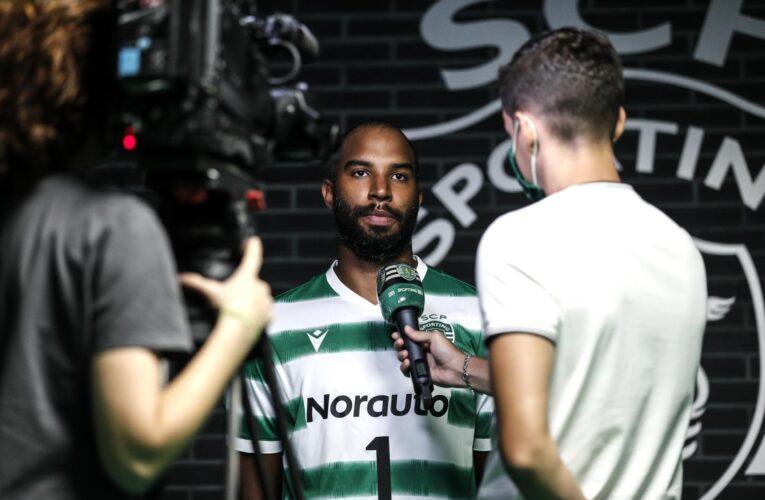 José Rojas firmó con el Sporting Club de Portugal