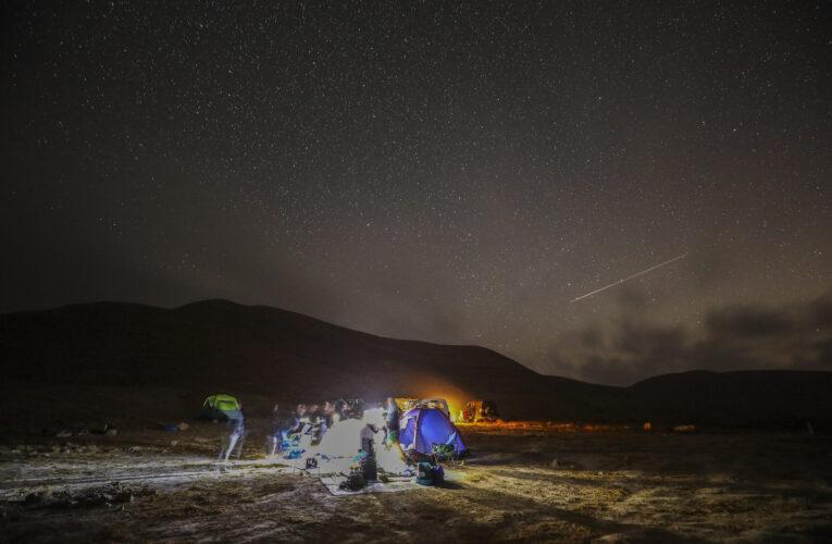Así fue la lluvia de meteoros Perseidas