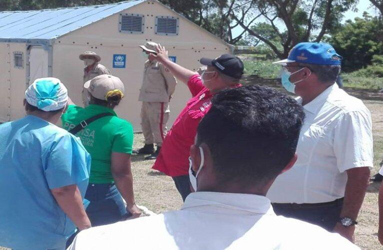 Elevarán capacidad del Centro de Aislamiento Los Caracas a 980 camas