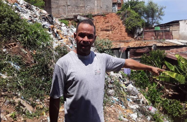 Toneladas de basura siguen acumuladas en parte alta de La Alcabala