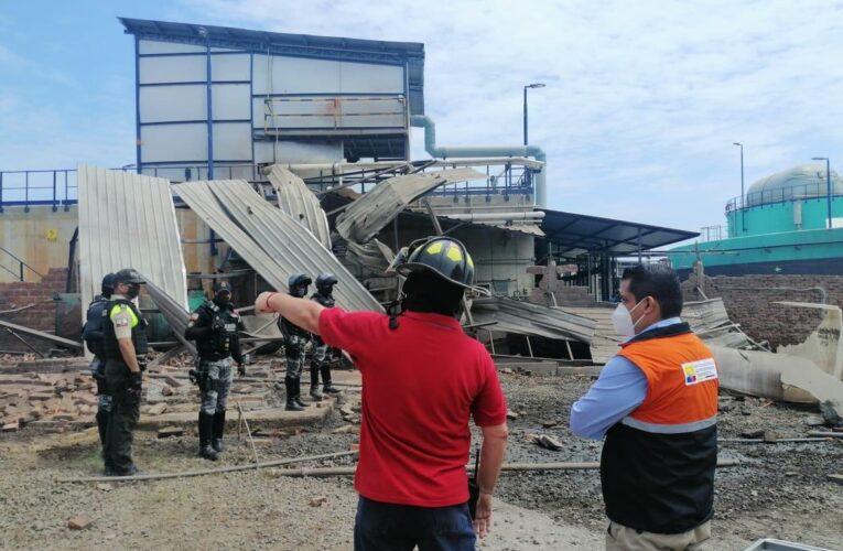 Tres venezolanos heridos en explosión en Ecuador