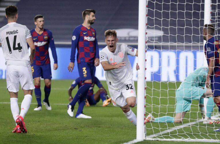 Bayern Munich aplastó 8-2 al Barcelona