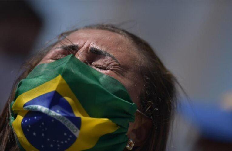 Brasil superó las 100 mil muertes y los tres millones de contagios por Covid