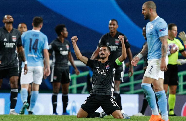 El Lyon dejó al City fuera de la Champions