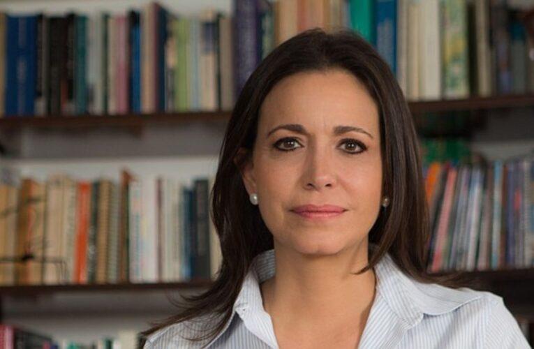 María Corina Machado responde a propuesta de Guiadó