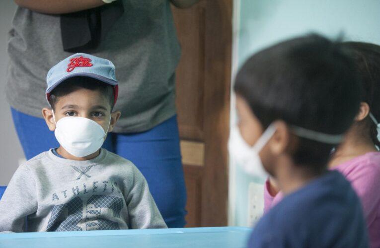 Los niños pueden portar el Covid durante semanas en el tracto respiratorio