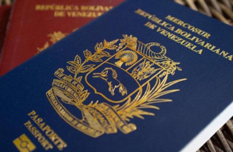 Gran Bretaña anuncia que aceptará pasaportes venezolanos vencidos