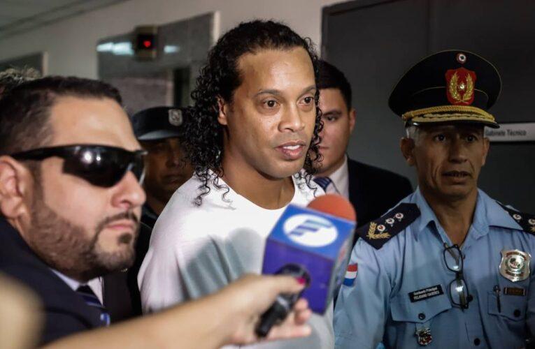 Soltaron a Ronaldinho