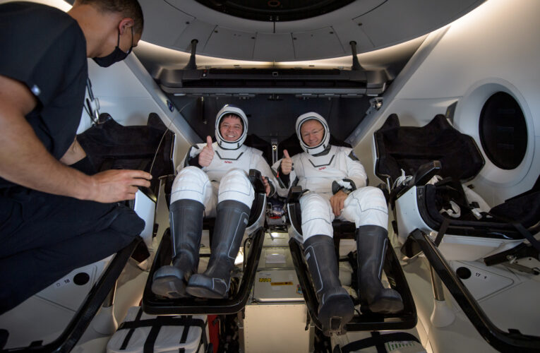 Regresaron los astronautas de SpaceX
