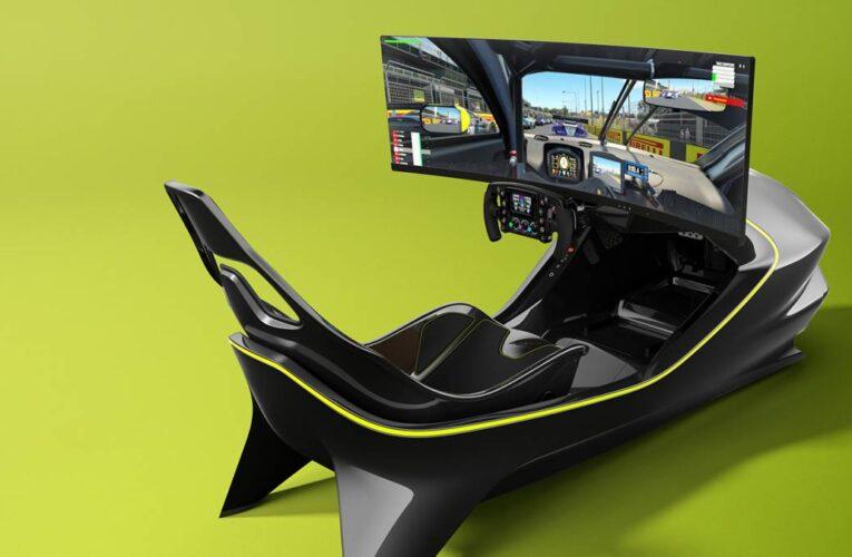 Aston Martin lanza simulador de carreras