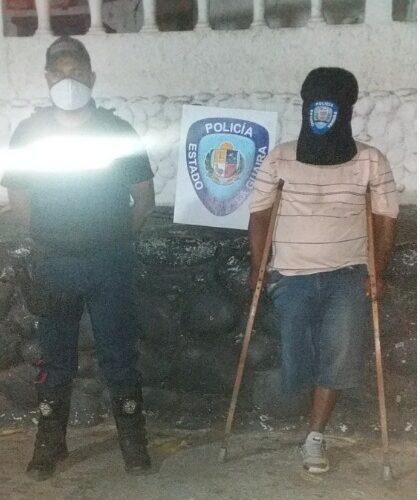 El Mocho tenía 15 detenciones y lo buscaban en Guarenas