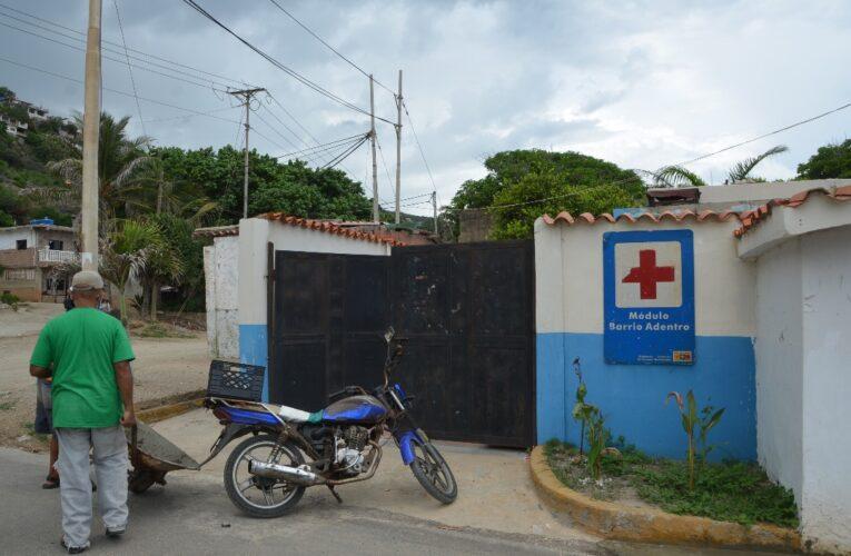 Sin medicamentos se encuentra el modulo de Barrio Adentro de Las Salinas