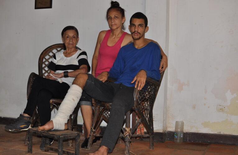 A Jazael le salvaron la pierna en el San José