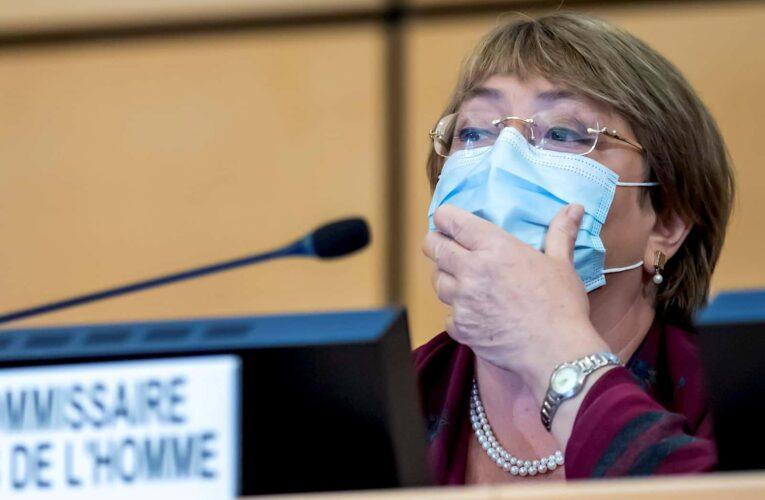 Bachelet: Más de 2.000 asesinatos este año