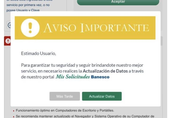 Ahorristas inconformes con requisitos imprevistos de Banesco