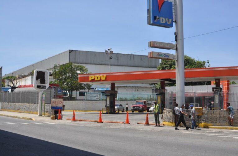 Solo 6 gasolineras fueron abastecidas este miércoles