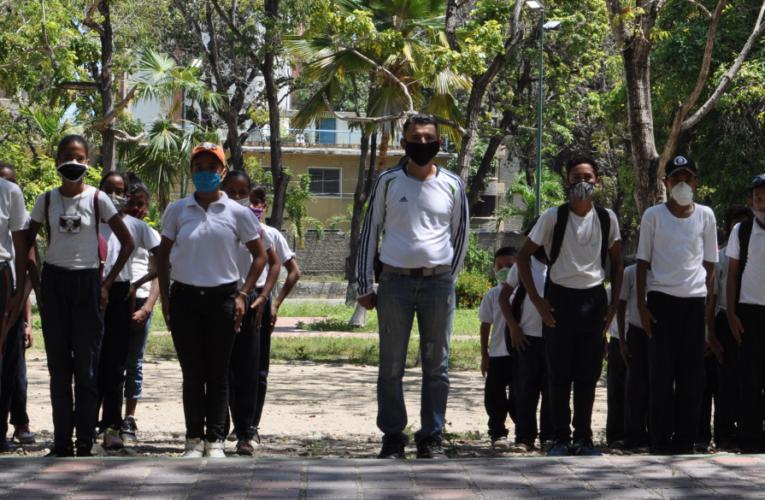 PoliGuaira promueve valores en niños y adolescentes de la Brigada Juvenil de Seguridad