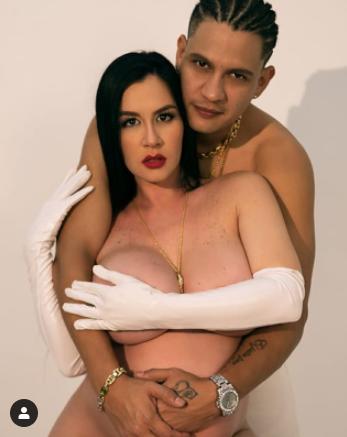 Diosa Canales mostró su barriga de embarazada