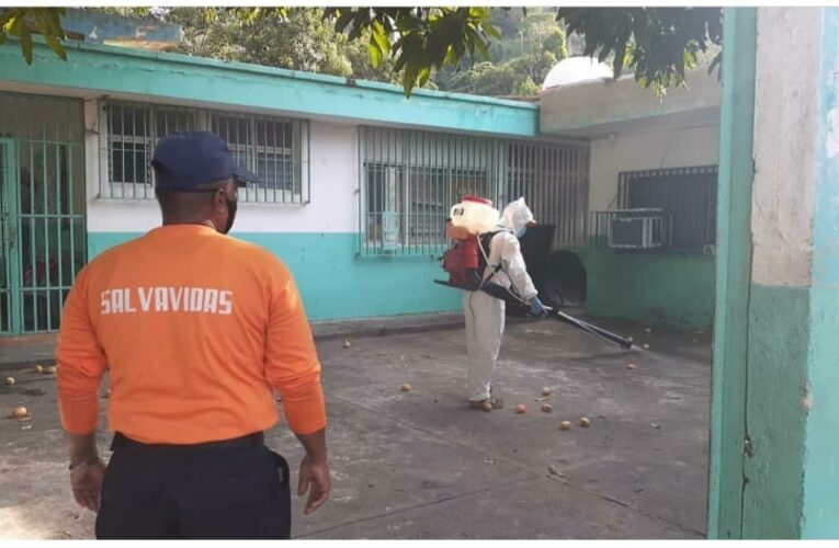 Desinfectaron áreas del ambulatorio de Todasana