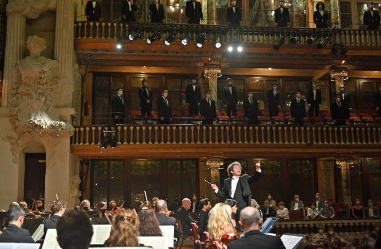 Gustavo Dudamel dirigió la Novena Sinfonía con la Orquesta Sinfónica de Galicia