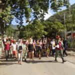Habitantes de Marapa Piache participaron en ejercicios de evacuación