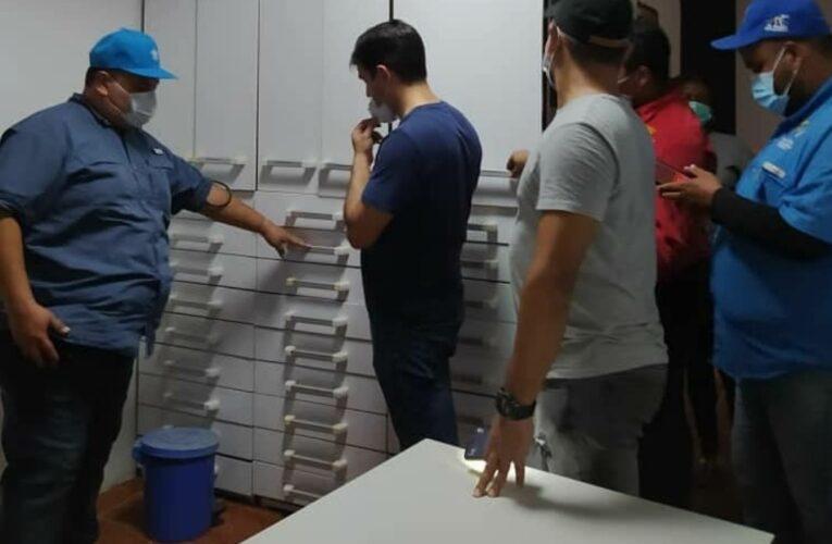 Avanzan los trabajos en la farmacia comunitaria de La Sabana