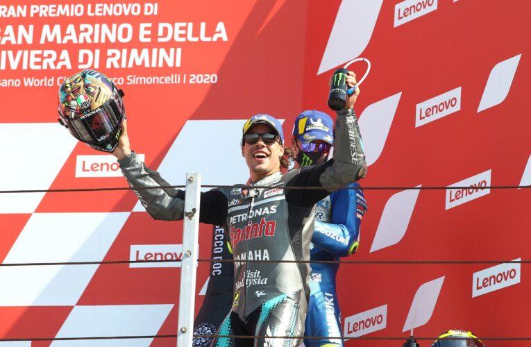Morbidelli sorprende en San Marino