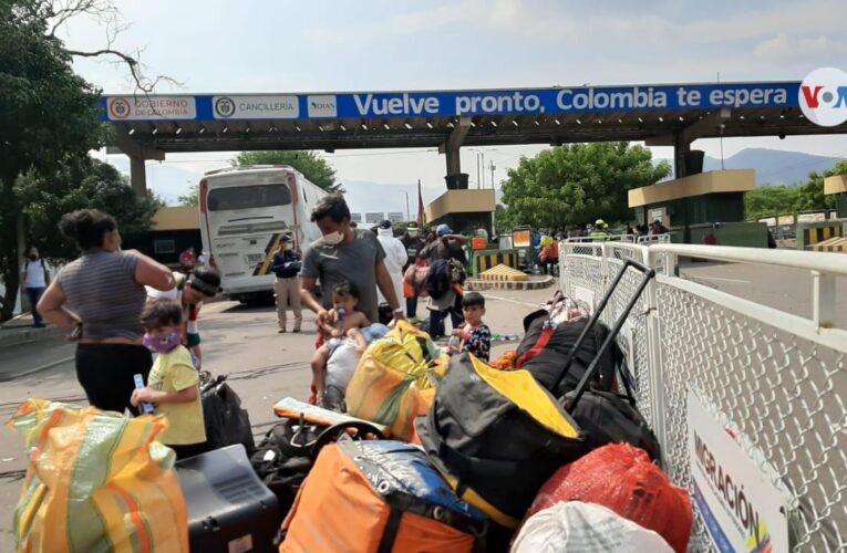 Evalúan propuestas para reabrir la frontera con Colombia