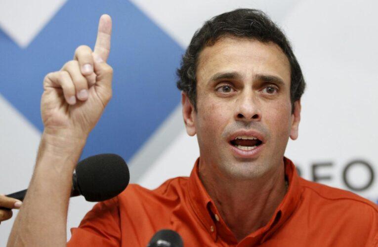 Bloomberg: Capriles busca aplazamiento del 6D para que UE envíe observadores
