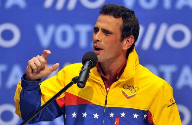 Capriles: Con chinos, rusos, europeos, hablaremos con todo el que sea necesario