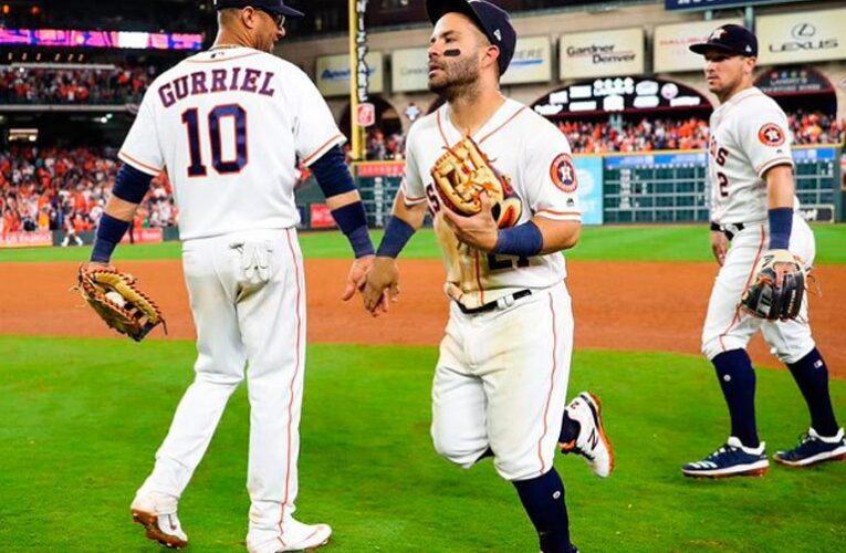 Astros le ganó el primero a Mellizos