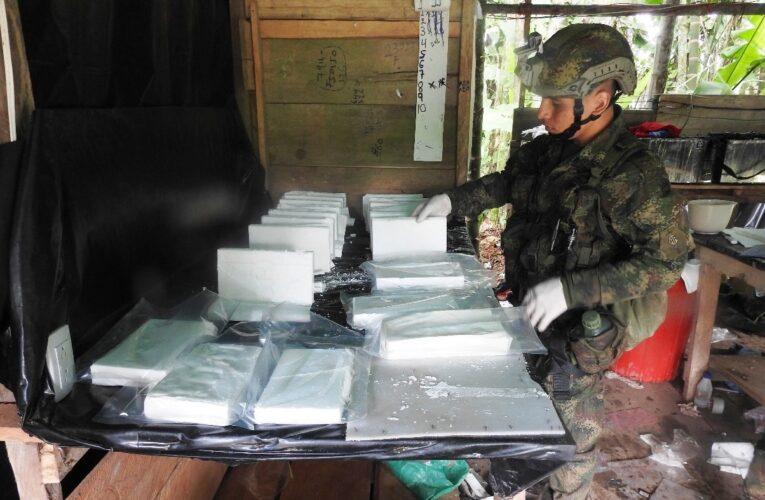 Destruyeron 14 laboratorios de coca manejados por el ELN en Colombia