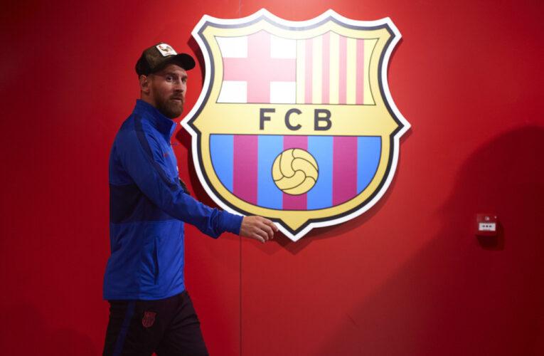 Messi se reincorpora al Barcelona