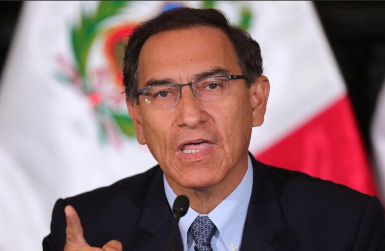 Congreso de Perú debate destitución del presidente Martín Vizcarra