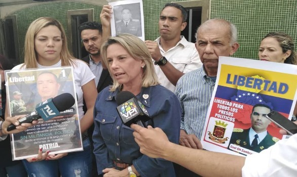 ONG solicita medidas humanitarias para 35 militares presos