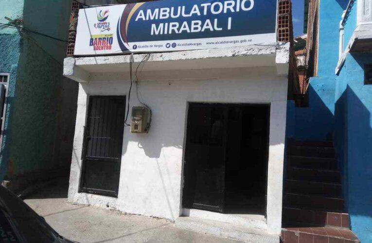 De lunes a viernes son las consultas en Mirabal I